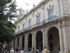 そして西側は旧スペイン総督官邸兼行政府、現在は市立の歴史博物館として公開。