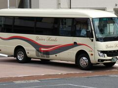 石見川本駅からは、このようなバスとなります。 路線バスです。