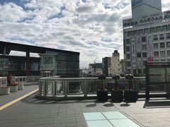 小田原駅です。小田原城は帰りに 行くかもしれませんが、まだ未定です。