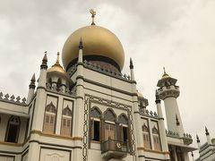 サルタンモスク!  ヘイズで曇ってるのも、何かいい味出してます(;''∀'')