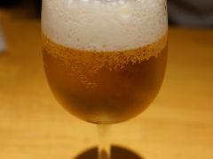 京都はやっぱり暑い、生ビールが美味い ♪(*^^)o∀*∀o(^^*)♪