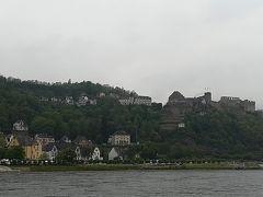 ラインフェルス城が見えます