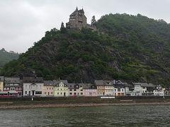 ネコ城が見えます。お城の名前は所有者だった方の名前からついているそう。