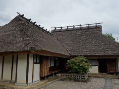 篠山城横の武家屋敷街には、このような住宅が立ち並んでいたんでしょうね。