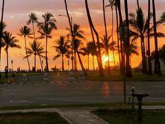 アローハ!!みなさま、COVID-19とのそれそれご自身との戦いをなさっていると 思います。各々の住んでいる街を改めて、愛おしく感じませんか?  私もハワイが以前より、もっっと、もっと大好きになりました。  ハワイでも3月23日からロックダンが始まりました。  座ったりしてはいけないのとか制限はありますが、海はサーファーにはオープンされています。 ビーチパークや州の公園は閉鎖されていますが、かカピオラニ公園の外回りはトレッキングを許されました。