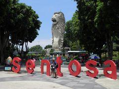 そしてシンガポール最大のマーライオン像とご対面。