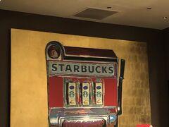 シーザースパレスホテルの中にあるスタバもラスベガス仕様。今度行ったときはラスベガス限定のマグカップかタンブラーを買いたい。