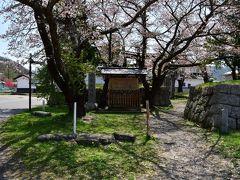 龍岡城跡。 五稜郭から少し離れた場所にある桝形。