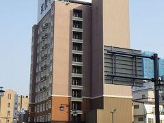 東横イン上田駅前。 上田駅から程近い場所にある。