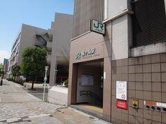 JR仙石線の榴ケ岡駅。 電車乗れば、仙台駅まで1駅2分。歩くとまだまだかかる。