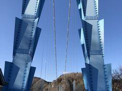 大迫力の吊り橋