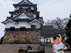 Part2では、彦根城の天守閣と玄宮園を見学。