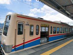 近江鉄道, 多賀線 多賀大社前駅から2駅、高宮で近江鉄道本線に乗り換えて彦根に戻ります。荷物を引き取り、米原から「ひかり」で帰京しました。