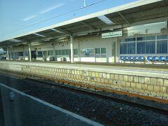 浪江駅。 ここまでが3月に復旧した区間。