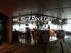 チェックイン後、再びターミナル3へ移動。史上初の空港内HRC。