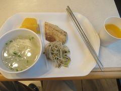 最終日。せっかくなので東横インの朝食を。遅い時間だったせいかプルコギはなくなってしまいました。