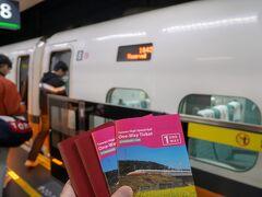 仕方ないので車内で買うか、と、13:21発の新幹線に乗車。 台南まで約1時間45分の旅です。