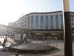 本日は中央駅から鉄道でゲント、そしてブルージュへ日帰り観光です。ブルージュまで運賃は2等で往復29.6ユーロでした。