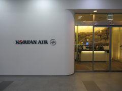 釜山のラウンジはJALの場合は大韓航空のラウンジを使うことになるのでこちらに入室します。