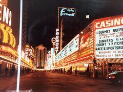 1982年1月のラスベガスダウンタウンです。