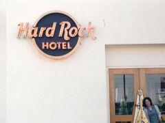 これは毎度おなじみの、嫁の趣味のハードロックカフェのホテル訪問です。