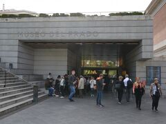 次はプラド美術館へ ここで10分ほど並びました。