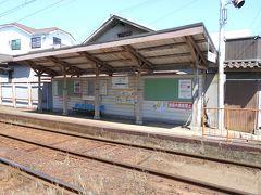 阪堺線石津駅です。
