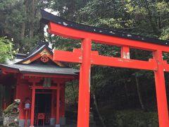 こちはら本殿までの階段の途中にある曽我神社。