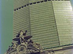 ニューヨーク観光。 PAN AM ビル。手前は、Grand Central.