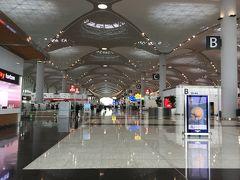 さて、再びやって来ましたイスタンブール新空港。
