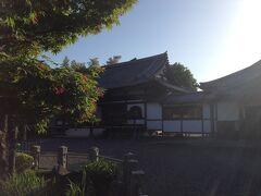 入間市の元加治駅裏の武蔵野33観音霊場の22番霊場の円照寺に来ました。