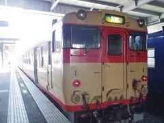 前に大村線に乗った時は終点の長崎まで行き観光したけど、今回は諫早駅で下車しました。 ココからは初乗車の島原鉄道に乗り換えです。