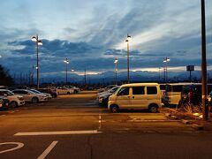 6:15 富山きときと空港に到着。