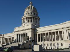 そしてどこかで見たようなデザインのカピトリオCapitolio Nacional de la Habana このあたりはトリニダーから戻ってきたあとでまたじっくりまわることにします。