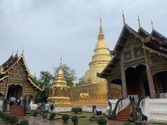 3件目は、チェンマイ市内で一番格式の高いワット・プラシン。 獅子の寺という意味の寺院です。