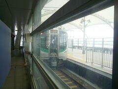 仙台空港アクセス鉄道。JRのE721系も乗り入れます。