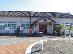 終着駅の湯前駅はくま川鉄道で一番古い駅舎で大正13年に建設され、国の有形文化財にも指定されています。