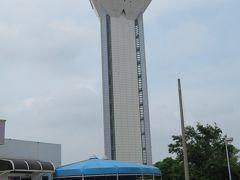 霞ケ浦ふれあいランドが併設されていて、霞ケ浦を見渡せるタワーもあるのですが・・・今はコロナの影響でクローズです。