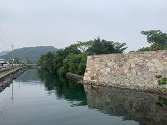 萩城外堀。