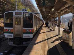 終点の長野原草津口駅に到着です。