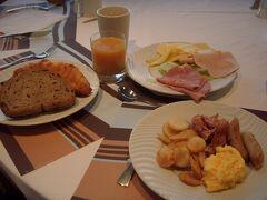 5日目。朝食。