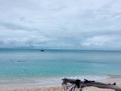 無人島フランクランド島に到着! 環境維持のため、1日に100名までしか入島する事はできません。