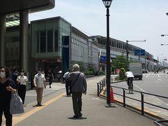 時刻は正午、二子玉川駅に戻ってきました。