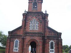 カトリック田平天主堂もコロナウイルス感染防止の為閉鎖されていました。