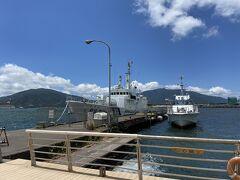 海上保安庁の船。 ココで訓練されるみたいですね、海猿。