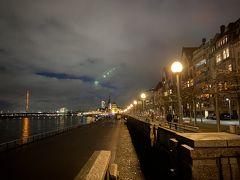 ライン川を散歩
