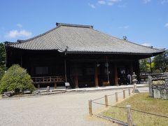●西大寺@近鉄大和西大寺駅界隈  こちらが、西大寺の本堂になります。 19世紀初頭の建物で、西大寺のご本尊、善慶作の釈迦如来立像が安置されています。