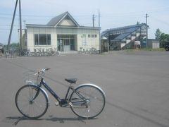 で、一旦剣淵駅に立ち寄り、ここでもケロアスちゃんと記念撮影。