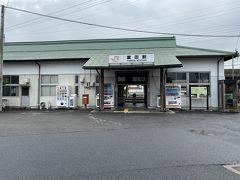 JR富田駅は寂れてます。近鉄と対照的。。。