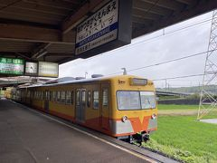 暁学園前駅です。25年経っても何一つ変わらないのはありがたいです。